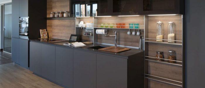 cucina Lain Pro Euromobil vetrine Frame