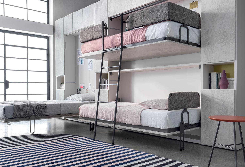 Clever armadio-letto-a-castello-a-scomparsa-im20-07-07 ...